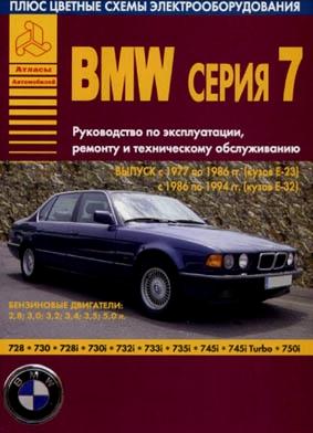 BMW 7 серии с 1977 по 1994 год
