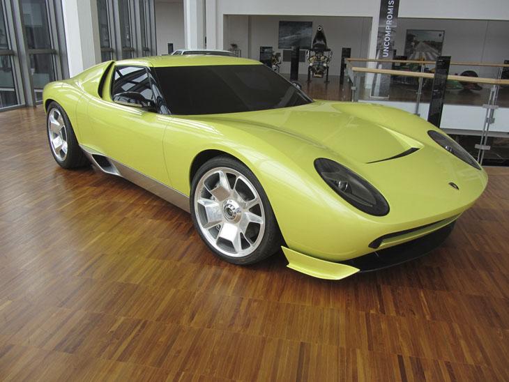 музей Lamborghini