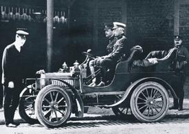 Один из первых Rolls-Royce 10 HP