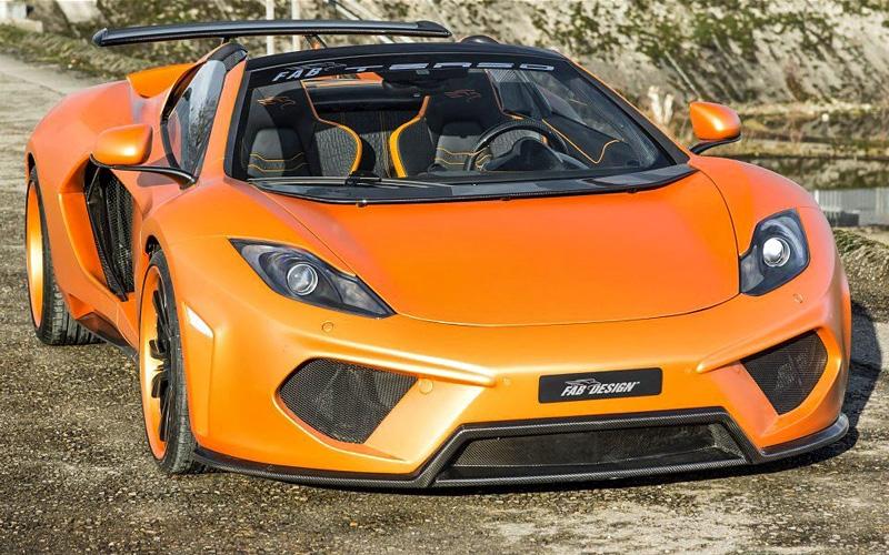 2013 McLaren MP4-12C FAB Design Spider Terso