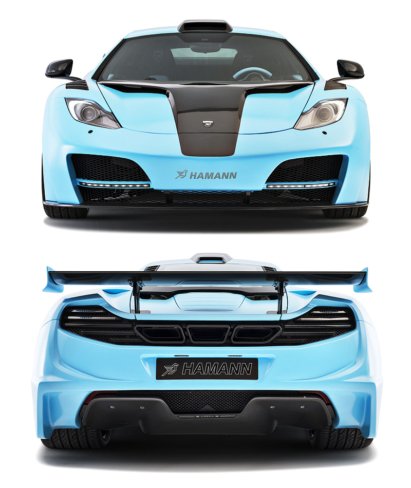 2013 McLaren MP4-12C Hamann memoR Blue Edition