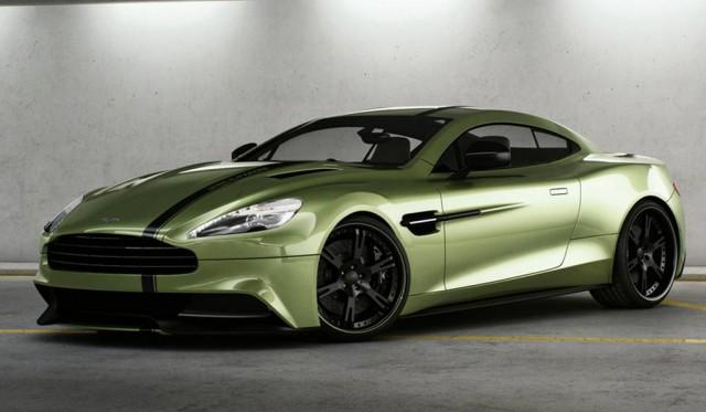 Aston Martin Vanquish 8