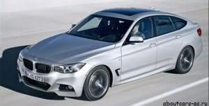 BMW 3 Series GT 2013....