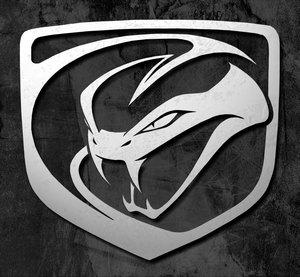 Логотип dodge viper