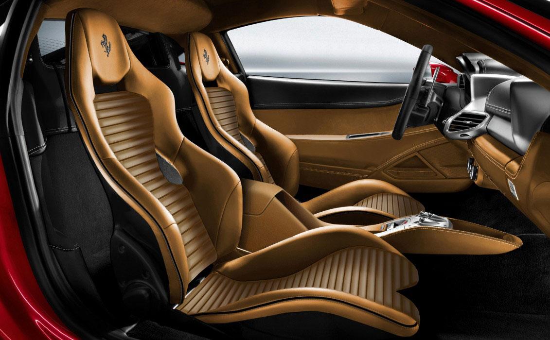 Pininfarina Ferrari SP12-EC Interior