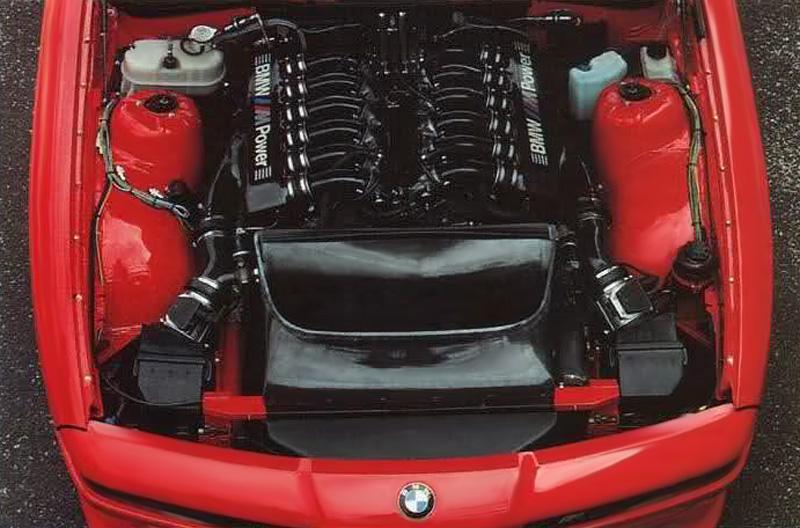 1990 BMW M8 Prototype (E31)