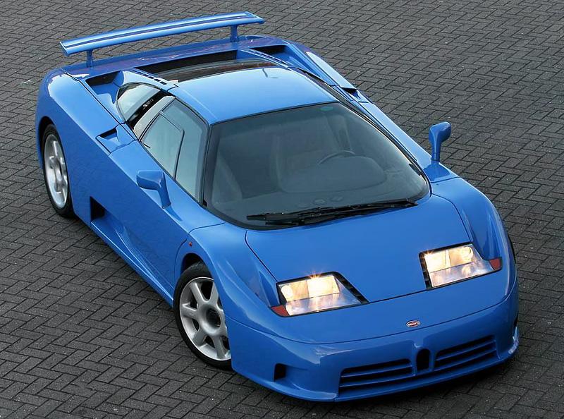 1991 Bugatti EB 110