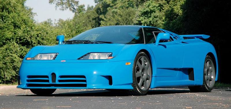 1993 Bugatti EB 110 Super Sport