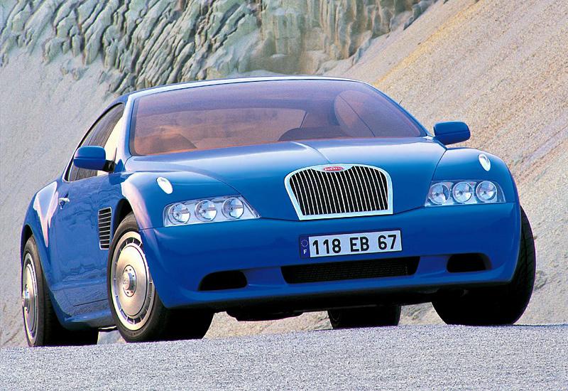 1998 Bugatti EB118 Concept
