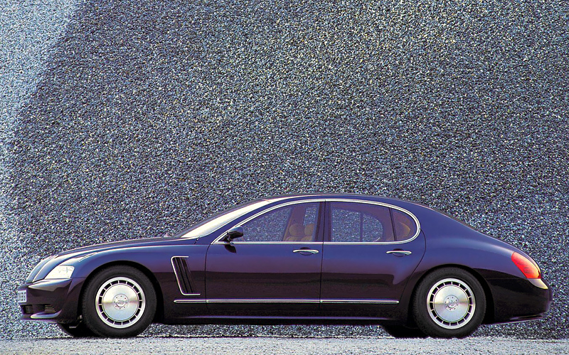 1999 Bugatti EB218 Concept