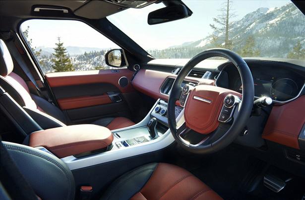фото салона Range Rover