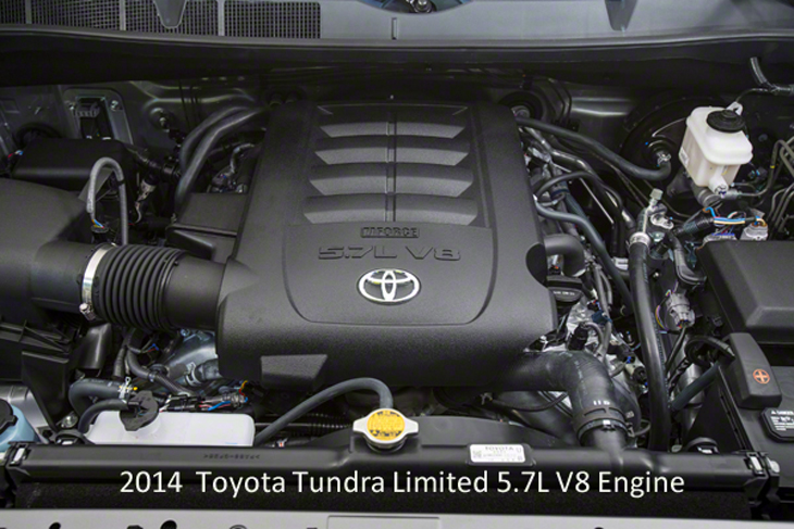 фото двигателя Toyota Tundra 2014