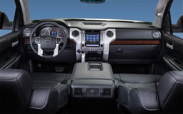 фото салона Toyota Tundra 2014