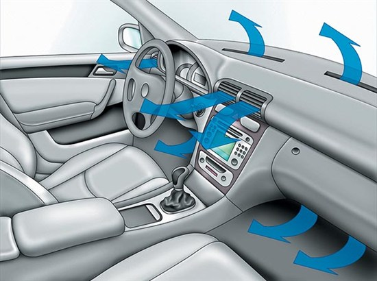 фото вентиляции автомобиля
