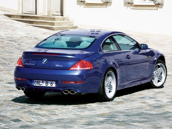 фото BMW Alpina B6