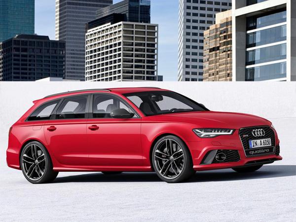 фото Audi A6 в кузове универсал