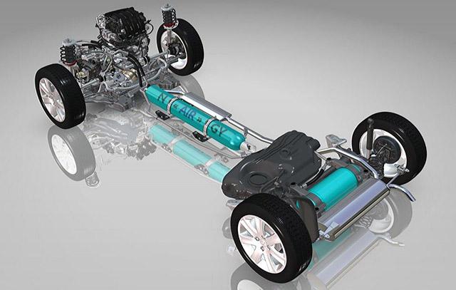 фото устройства автомобиля Peugeot 208 Hybrid Air 2L