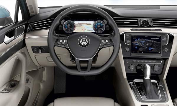 фото салона Volkswagen Passat GTE