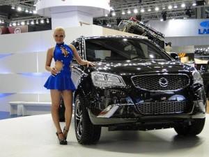 автомобиль SsangYong
