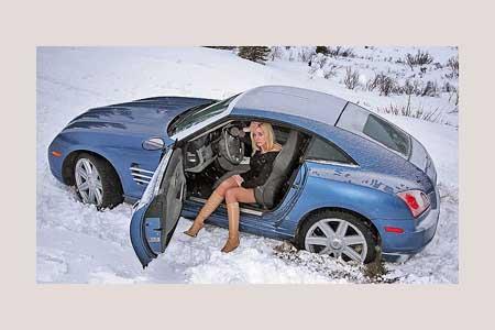 зимой на авто