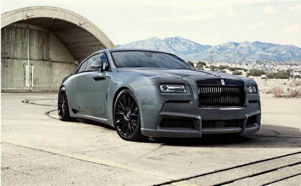 Rolls-Royce Wraith от Spofec
