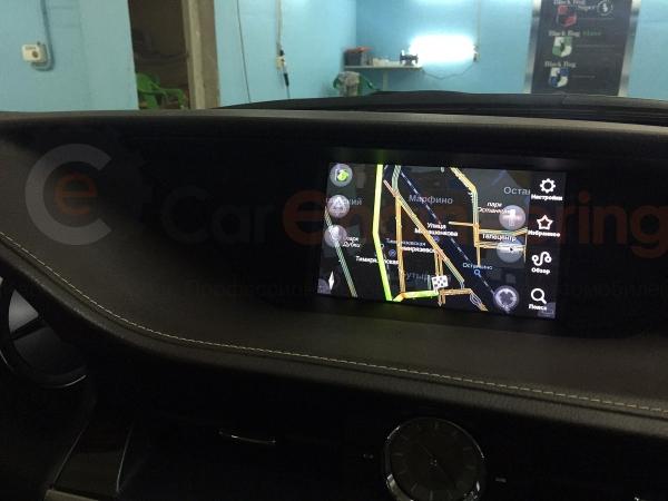 Блок навигации Lexus GS350