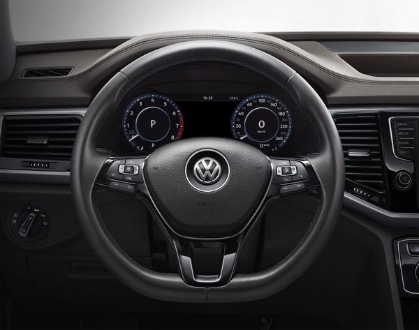 приборы  Volkswagen Teramont
