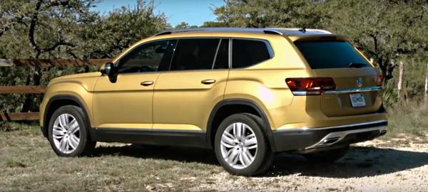 Тест-драйв Volkswagen Teramont