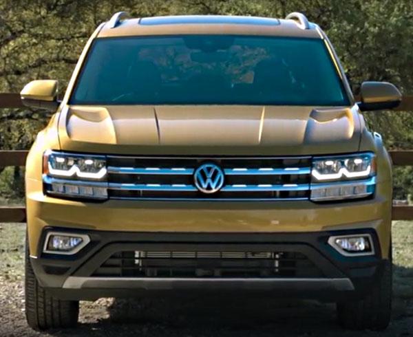 Volkswagen Teramont вид спереди