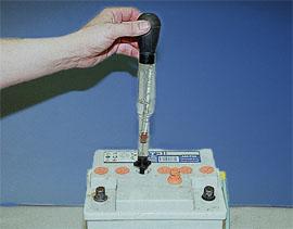 плотность аккумулятора